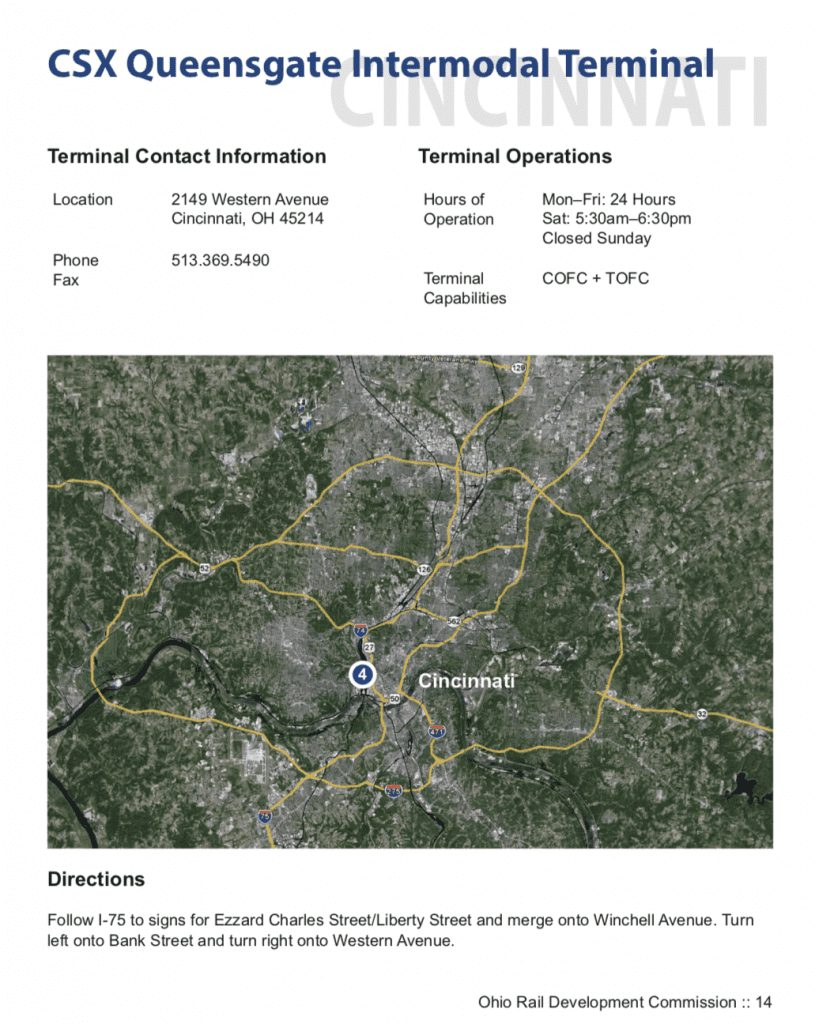 Cincinnati ports Taylor Logistics Inc.