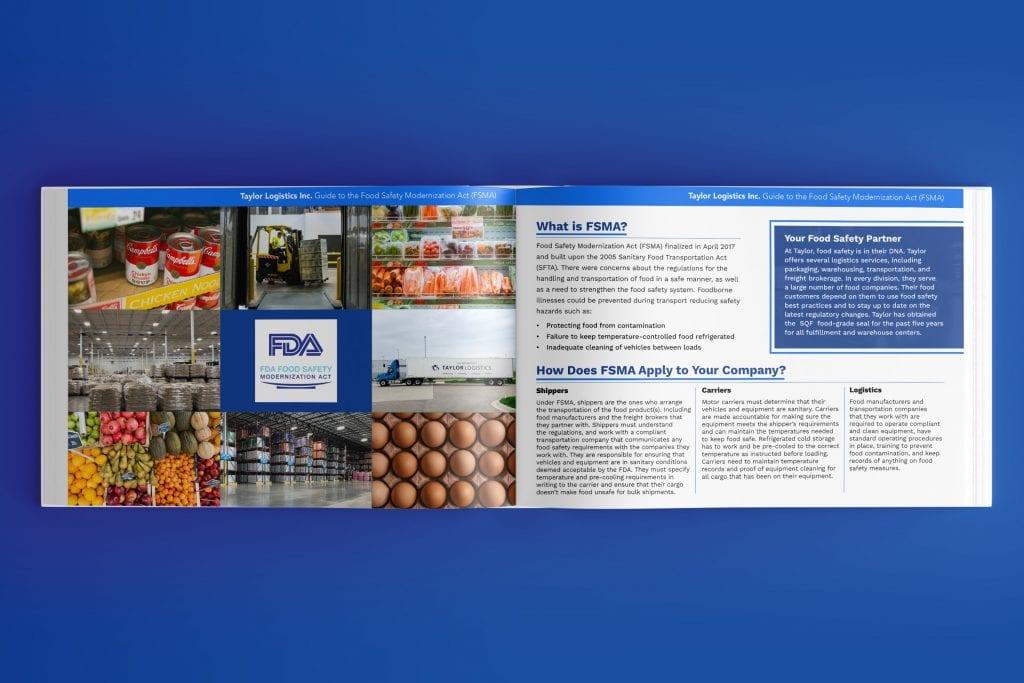 Taylor Logistics Inc. Cincinnati Food Logistics