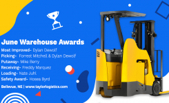 June Warehouse Awards
