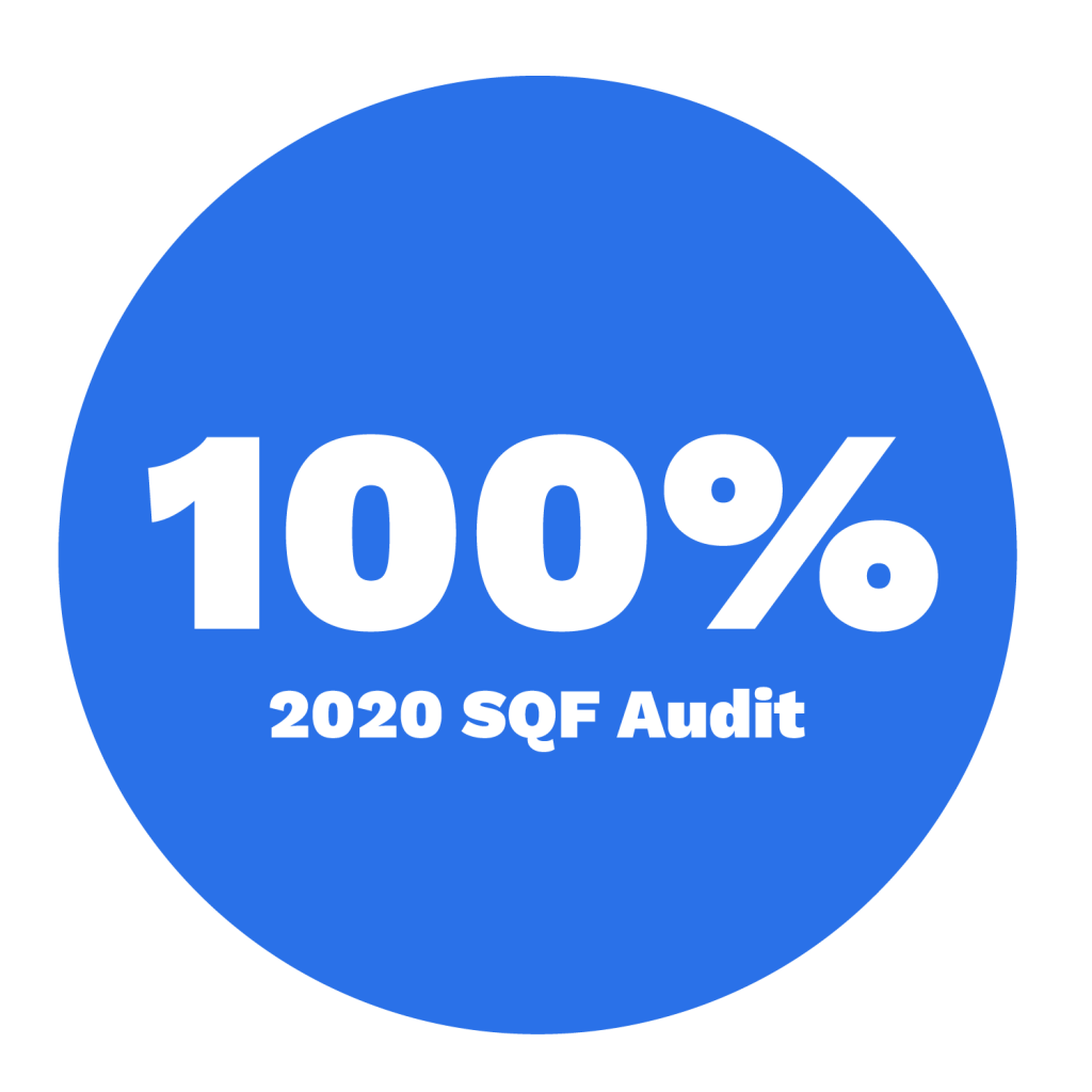 SQF Audit 2020 100-01