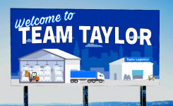 Welcome to Team Taylor, John!