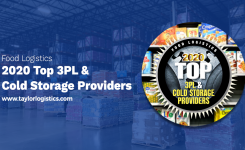Taylor Logistics Inc. Named to Food Logistics' 2020 Top 3PL & Cold Storage Providers List