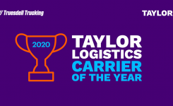 Taylor Announces 2020 Carrier of the Year | Taylor Logistics Inc.