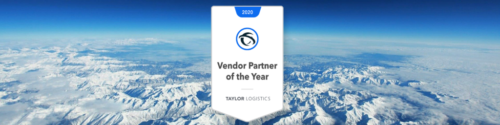 2020 vendor Partner of the Year