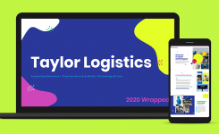 2020 Year in Review | Taylor Logistics Wrapped