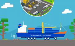 Port-to-Door  & Door-to-Port Services   Taylor Solutions
