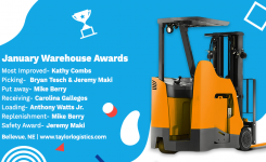 January Warehouse Awards | Bellevue, NE