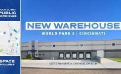 Taylor Adds Another Public Warehouse In Cincinnati | World Park 3