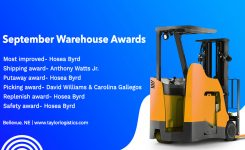 September Warehouse Awards   Bellevue, NE